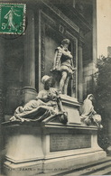 CP Paris Monument Amiral De Coligny Rue De Rivoli - Chatillon Coligny
