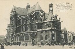 Paris Eglise Sainte Eustache ELD Architecte Lemercier Né à Pontoise - Kirchen