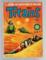Titans N°38La Guerre Des étoiles - Machine-Man - Mikros - Dazzler - La Culture Du Varech De 1982 - Titans