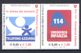 SMOM 2006 Sass.827/28 MNH/** VF - Sovrano Militare Ordine Di Malta