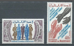 Mauritanie YT N°291/292 Année Contre Le Racisme Neuf ** - Mauritania (1960-...)