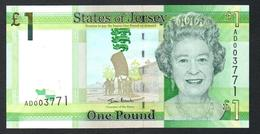 Jersey 1 Pound 2010 UNC - Jersey