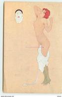 N°11565 - Carte Illustrateur - Raphaël Kirchner - La Paresse - Femme Nue - Kirchner, Raphael