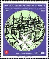 SMOM 2006 Sass.859 MNH/** VF - Sovrano Militare Ordine Di Malta