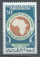 Mauritanie YT N°269 Banque Africaine De Développement Neuf ** - Mauritania (1960-...)