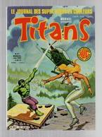 Titans N°41La Guerre Des étoiles - Machine-Man - Mikros - Dazzler - Les Cosmos Les Galaxies De 1982 - Titans