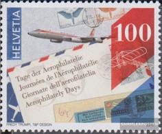 Switzerland 2459 (complete Issue) Unmounted Mint / Never Hinged 2016 Aerophilatelie - Convair CV-990 - Switzerland