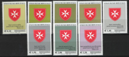 SMOM 2007 Sass.860/67 MNH/** VF - Malte (Ordre De)