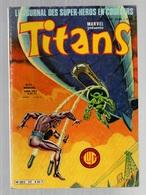 Titans N°42La Guerre Des étoiles - Machine-Man - Mikros - Dazzler - Les Cosmos Les Nébuleuses De 1982 - Titans