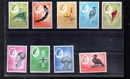 SWAZILAND ENTRE 93 ET 104** SUR DES OISEAUX  ET DES COIFFES - Swaziland (1968-...)