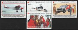 SMOM 2010 Sass.1009/12 MNH/** VF - Malte (Ordre De)