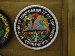 Rare écusson GENDARMERIE GUYANE - Police & Gendarmerie