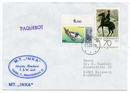 - Lettre Paquebot M.T. INKA 1979 - - [7] Federal Republic