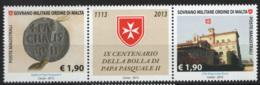 SMOM 2013 Sass.1130/31 MNH/** VF - Sovrano Militare Ordine Di Malta