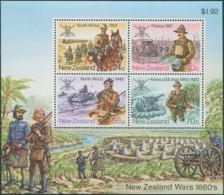 New Zealand 1984 SG1356 Military History MS MLH - Nueva Zelanda