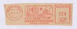 DDR AFS - DRESDEN, DIB Deutsche Investitionsbank 4.7.52 - Fabriken Und Industrien