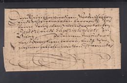 Schnörkelbrief 1646 - Allemagne