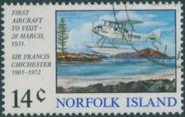 Norfolk Island 1974 SG151 14c First Aircraft Landing FU - Norfolk Island