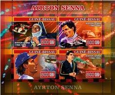 Guinea Bissau  2007 Formula Ayrton Senna , Racing Car - Guinea-Bissau
