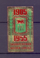 CINDERELLA ERINNOFILIA GOLDEN JUBILEE 1955   (GIUGN1900B64) - Erinnofilia
