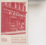 ANGOULEME   CARTE PUB - Angouleme