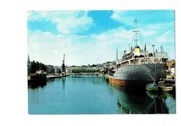 Cpm - 14 - CAEN - Bateaux Dans Le Bassin St Pierre - 1977 - Artaud 79 - Bateau Grue - Caen