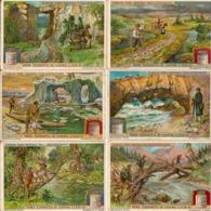 """(FI).Figurine Liebig.Serie""""Curiosi Ponti Naturali"""".1912.Unificato N° 1041.Val. 6,00 (21-a19) - Liebig"""