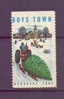 CINDERELLA ERINNOFILIA BOYS TOWN NEBRASKA1962   (GIUGN1900B66) - Erinnofilia