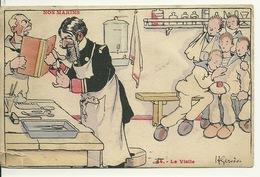 ILLUSTRATION H. GERVESE / NOS MARINS - LA VISITE MEDICALE - Gervese, H.