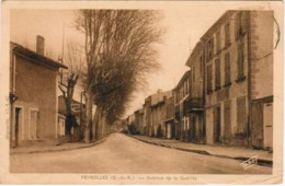 P112 - PEYROLLES - Avenue De La Guérite - Peyrolles