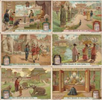 "(FI).Figurine Liebig.Serie""I Palazzi Imperiali Cinesi"".1912.Unificato N° 1054.Val. 5,00 (22-a19) - Liebig"