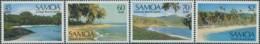 Samoa 1987 SG754-757 Scenes Set MNH - Samoa