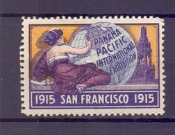 CINDERELLA ERINNOFILIA PANAMA PACIFIC EXPOSITION SAN FRANCISCO 1915   (GIUGN1900B70) - Erinnofilia