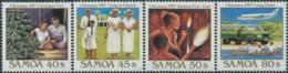 Samoa 1987 SG764-767 Christmas Set MNH - Samoa