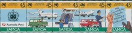 Samoa 1988 SG768-772 Australia Bicentenary Set MNH - Samoa