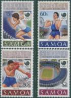 Samoa 1988 SG783-786 Olympic Games Set MNH - Samoa