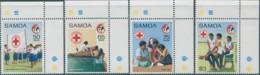 Samoa 1989 SG826-829 Red Cross Set MNH - Samoa