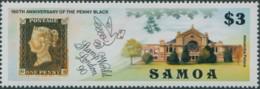 Samoa 1990 SG846 $3 Stampworld London Penny Black MNH - Samoa