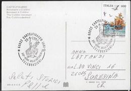 ANNULLO SPECIALE - CASTELFIDARDO -26.09.1992 - 132° DELLA BATTAGLIA CELEBRAZIONI SU CARTOLINA - 1946-.. République