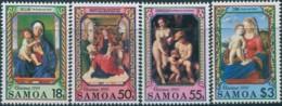 Samoa 1990 SG852-855 Christmas Set MNH - Samoa