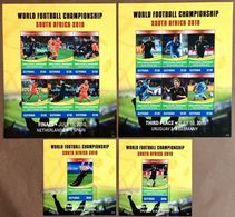 # Guyana 2010**Mi.8104-17 World Cup 2010, South Africa , MNH [16;23] - Coupe Du Monde