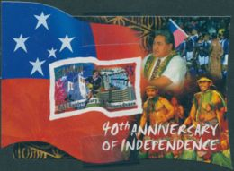 Samoa 2002 SG1088 Independence MS MNH - Samoa