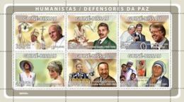 Guinea Bissau  2008   Humanists ,Peace Defenders  Red Cross  Diana  Carter - Guinea-Bissau