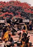 Burkina Faso Gaoua Poni Pougoulis Marchandes Sous Un Flamboyant (scan Recto Verso ) Nono0039 - Burkina Faso