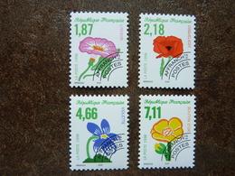1998  Fleurs Sauvages  Y&T= 240 à 243 ** MNH - 1989-....
