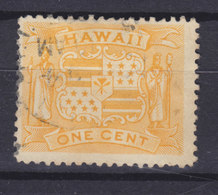 Hawaii 1894 Mi. 57    1c. Wappen - Hawaii