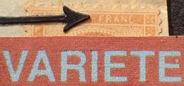 """R1917/209 - CERES N°38 Sur ✉️ GARE De CHAMBERY > ANNECY - AMBULANT """" M CM """" - VARIETE ➤➤➤ FRANC Retouché - 1870 Siege Of Paris"""