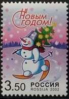 Russia, 2002, Mi. 1044, Sc. 6733, SG 7138, Happy New Year, MNH - Unused Stamps