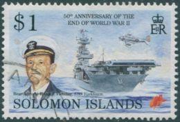 Solomon Islands 1995 SG833 $1 Rear-Admiral Fletcher FU - Solomon Islands (1978-...)