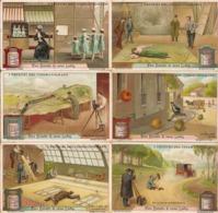 """(FI).Figurine Liebig.Serie""""I Trucchi Del Cinematografo"""".1913.Unificato N° 1069.Val. 16,00 (24-a19) - Liebig"""